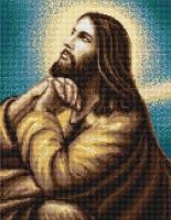 B306 Мольба Иисуса. Набор для вышивки крестом