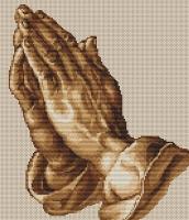B350 Молящие руки. Набор для вышивки крестом