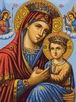 B428 Икона Божьей Матери. Набор для вышивки крестом