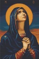 """B443 Икона Божьей Матери """"Всех скорбящих радость"""". Набор для вышивки крестом"""