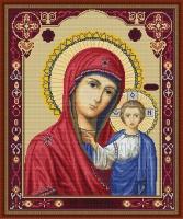 B446 Казанская Божья Матерь. Набор для вышивки крестом