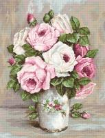 B574 Смешанные розы. Набор для вышивки крестом