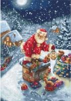 B577 Дед Мороз. Набор для вышивки крестом