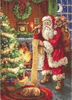 B578 Дед Мороз. Набор для вышивки крестом