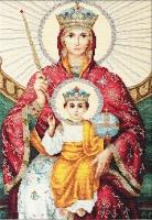 """BR113 Икона Божией Матери """"Державная"""". Набор для вышивки крестом"""