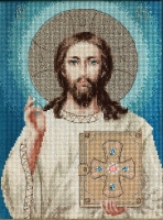 BR117 Иисус Христос. Набор для вышивки крестом