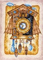 AH-039 Часы с кукушкой. Набор для вышивки крестом