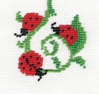 П1 016 СОЛНЫШКИ, Набор для вышивки бисером