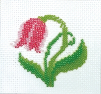 П1 017 ТЮЛЬПАН, Набор для вышивки бисером