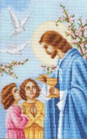 П3 001 ПРИЧАСТИЕ. Набор для вышивки крестом