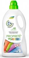 Proprete Colour Gel 1 л. Жидкое средство для стирки
