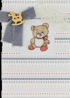(S)F15 Набор для изготовления открытки с вышивкой
