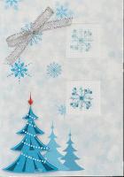 (S)F16 Набор для изготовления открытки с вышивкой