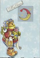 (S)F17 Набор для изготовления открытки с вышивкой