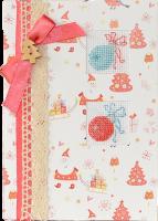 (S)F18 Набор для изготовления открытки с вышивкой