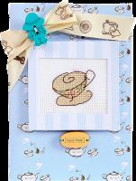 (S)F3 Набор для изготовления открытки с вышивкой