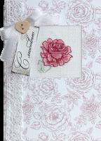 (S)P18 Набор для изготовления открытки с вышивкой