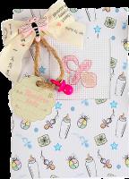 (S)P4 Набор для изготовления открытки с вышивкой
