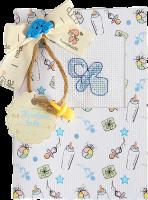 (S)P5 Набор для изготовления открытки с вышивкой