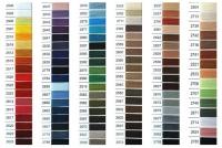 Нить для вышивки бисером Титан, цветная